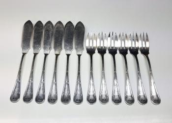 Silberbesteck mit Initialien laserbeschriftet