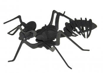 Ameisenmodell lasergeschnitten aus Moosgummi