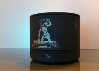 Lasergravierter Bluetooth-Lautsprecher