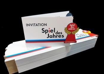 Lasergestanzte Einladungskarten